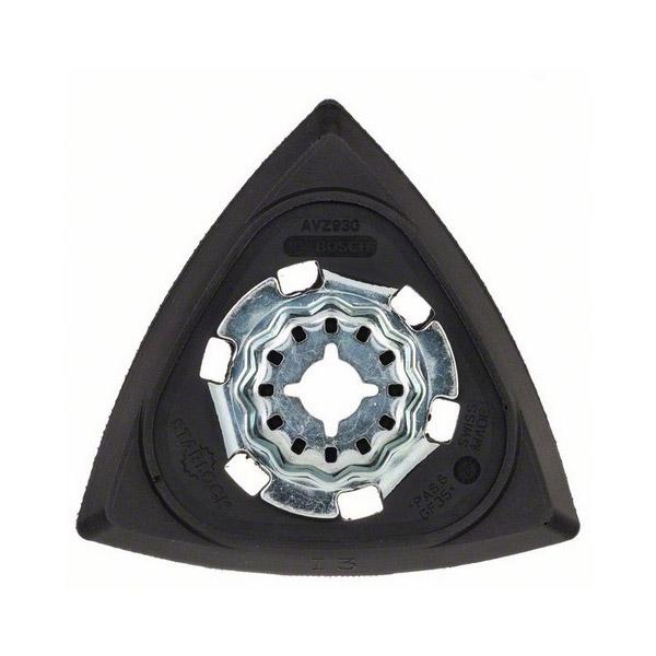 Starlock sanding plate
