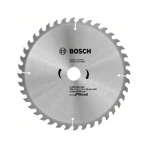 Circular saw blades for mitre saws and table saws