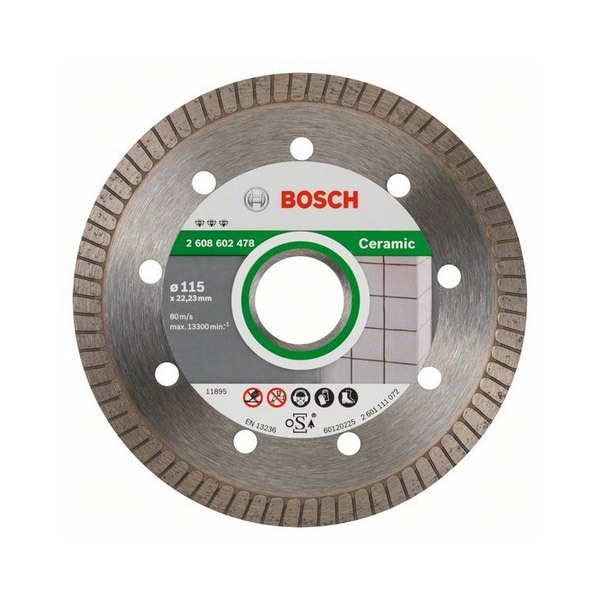 Diamond cutting discs Ceramic for angle grinders