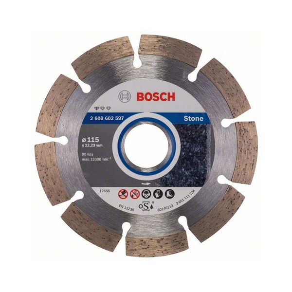 Diamond cutting discs Stone for angle grinders
