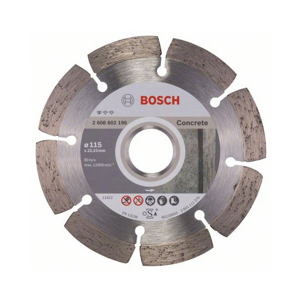 Diamond cutting discs Concrete for angle grinders