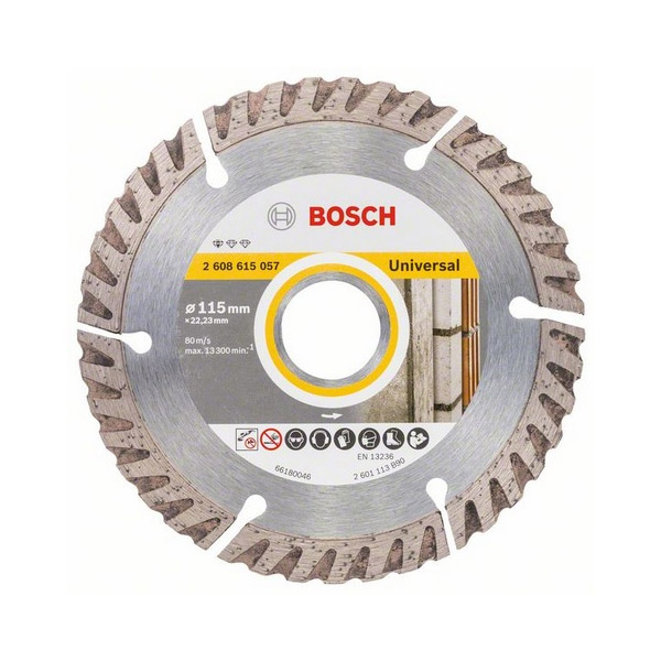 Diamond cutting discs Universal for angle grinders