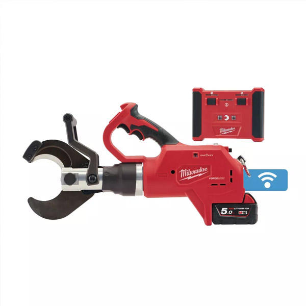 M18™ FORCE LOGIC™ hydraulic remote underground cable cutter