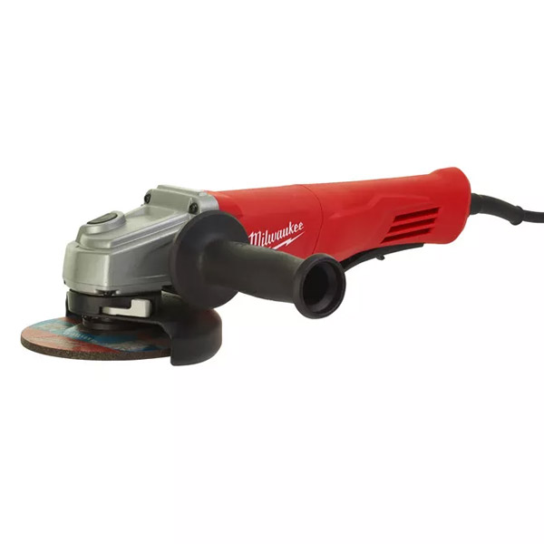 1250 W angle grinder with slim paddle switch