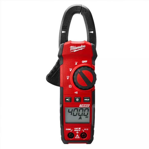 Light commercial clamp meter