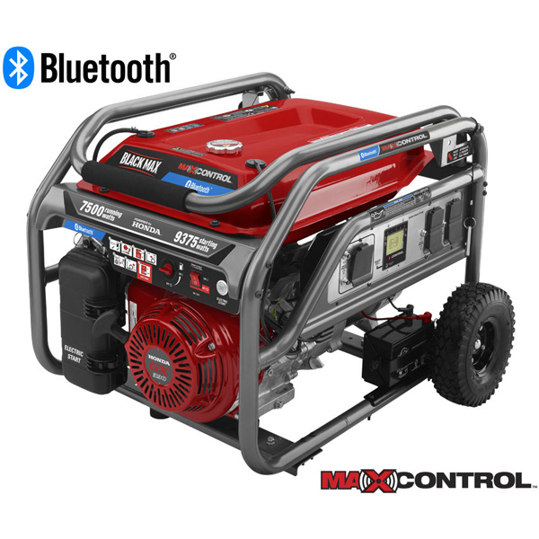 7500 Watt Bluetooth Electric Start Generator Powered by Honda