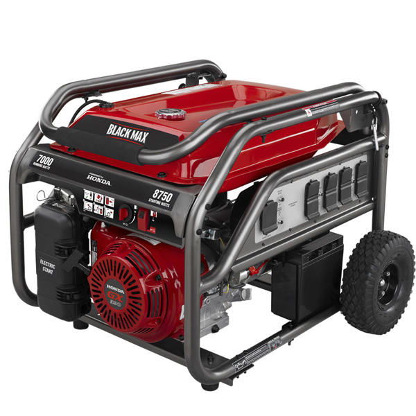 7000 Watt Electric Start Generator Powered by Honda