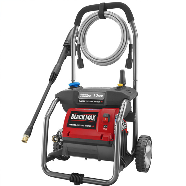 1800 PSI Electric Pressure Washer with Cleaning Kit